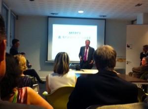Intervention de Patrick Balkany dans le cadre de latelier ''After Business@Levallois''