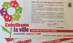 Carton d'invitation Villepinte